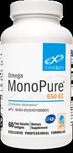 xymogen omega monopure fish oil supplement